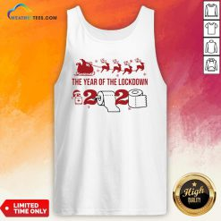 2020 Toilet Paper The Year Of The Lockdown Christmas Tank Top