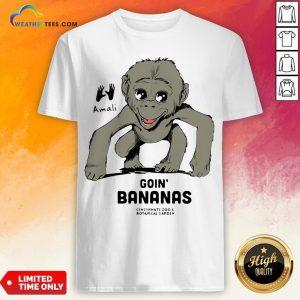 Amali Goin' Bananas Cincinnati Zoo And Botanical Garden Shirt