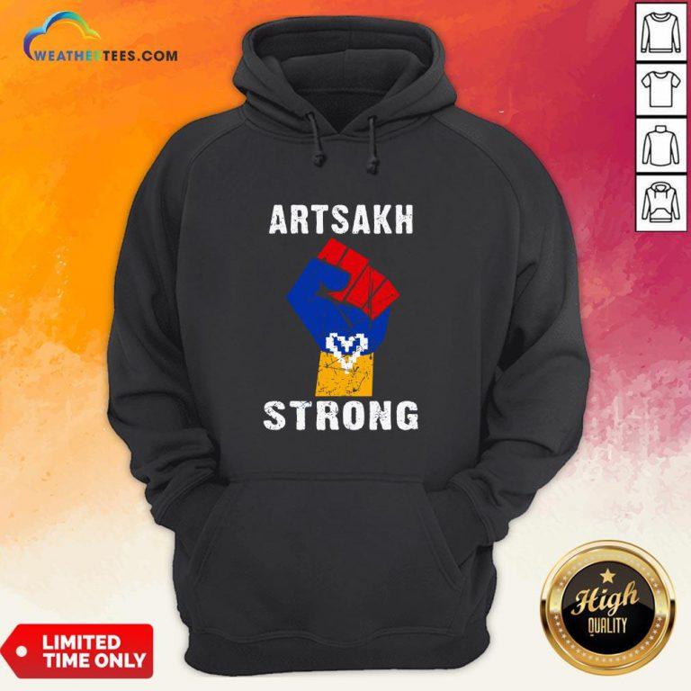 Artsakh Strong Artsakh Is Armenia – Armenian Flag Vintage Hoodie