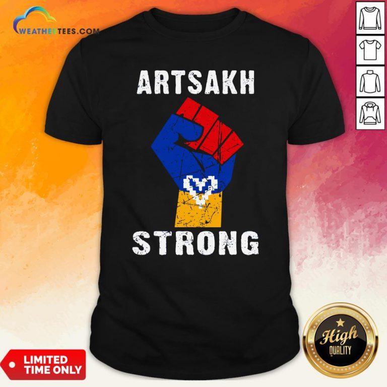 Artsakh Strong Artsakh Is Armenia – Armenian Flag Vintage T-Shirt
