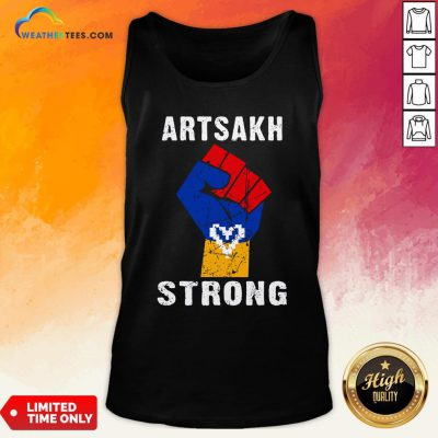 Artsakh Strong Artsakh Is Armenia – Armenian Flag Vintage Tank Top