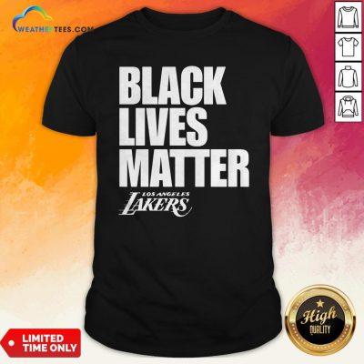 Black Lives Matter Los Angeles Lakers Shirt