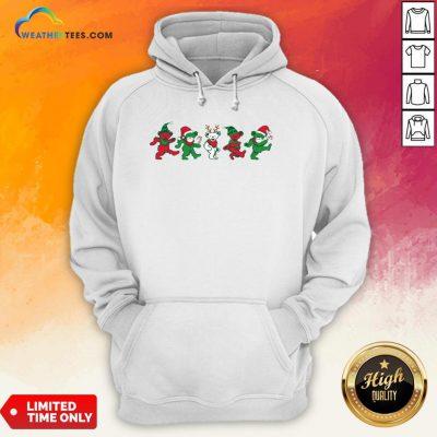 Boom Grateful Dead Bear Christmas Hoodie - Design By Weathertees.com