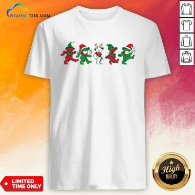 Boom Grateful Dead Bear Christmas Shirt - Design By Weathertees.com