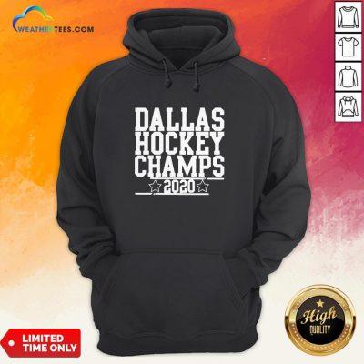 Dallas Champs 2020, Hockey Sticks And Stars, Dallas Champion Hoodie