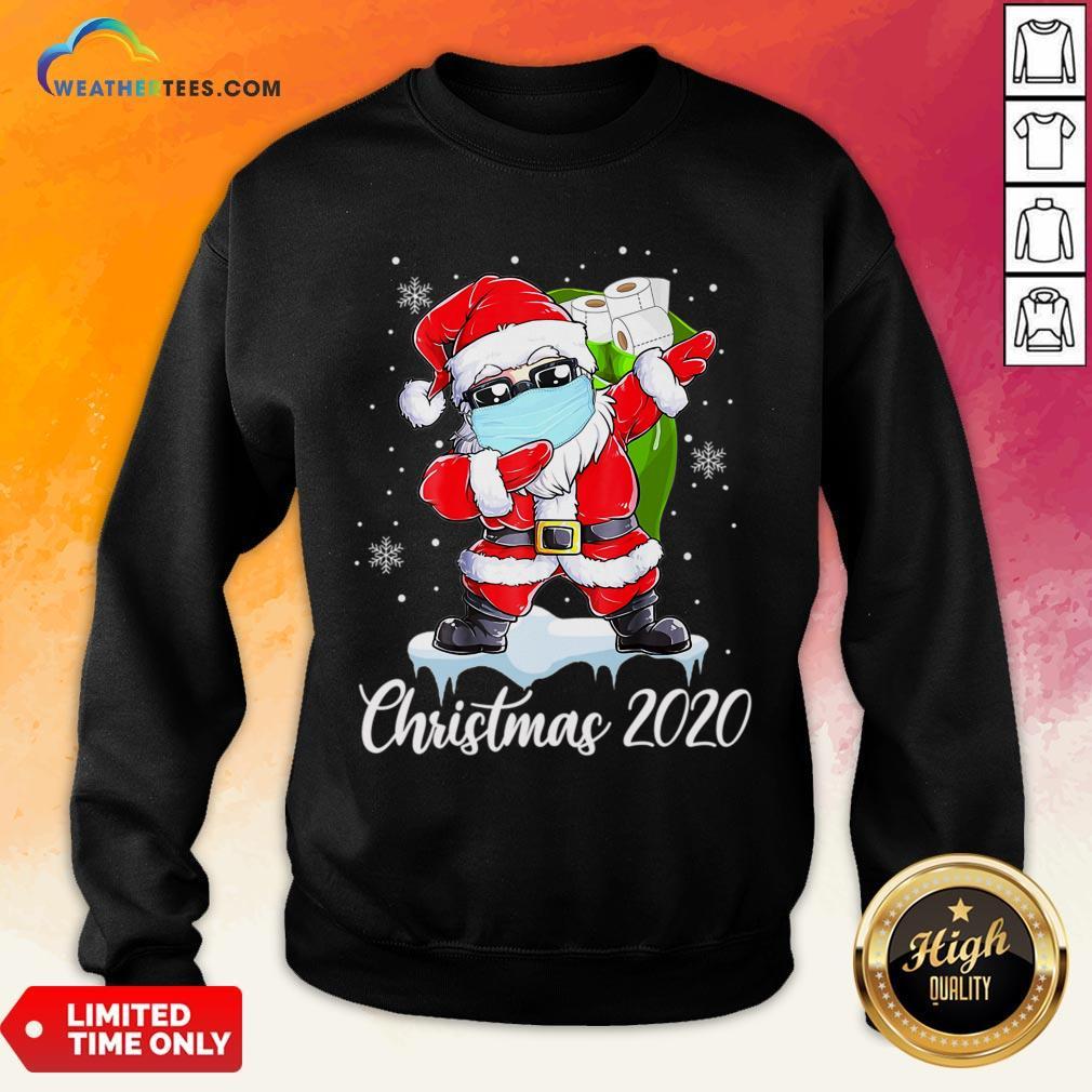 Do Santa Dabbing Christmas 2020 Sweatshirt - Design By Weathertees.com