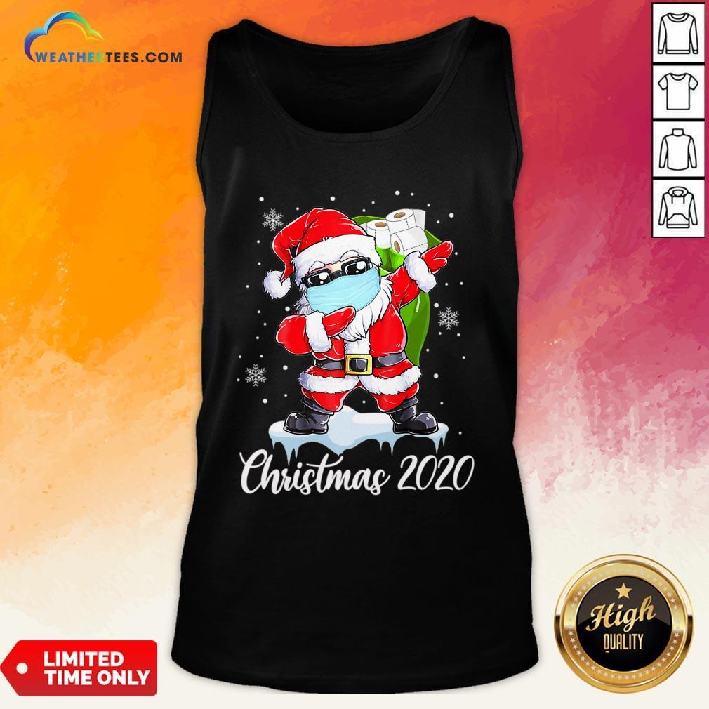 Do Santa Dabbing Christmas 2020 Tank Top - Design By Weathertees.com