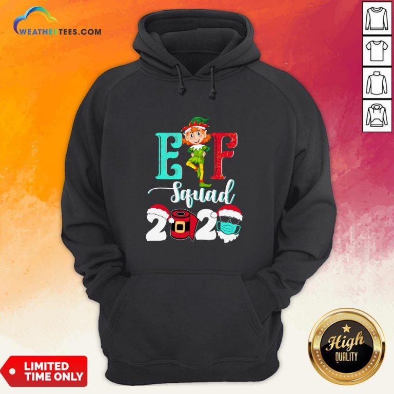 Elf Squad Christmas 2020 Family Matching Xmas Funny Gift Hoodie