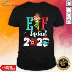 Elf Squad Christmas 2020 Family Matching Xmas Funny Gift T-Shirt