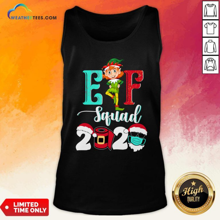 Elf Squad Christmas 2020 Family Matching Xmas Funny Gift Tank Top