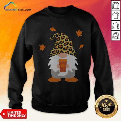 Feel Gnome Penguins Hug Coffee Sweatshirt - Design By Weathertees.com
