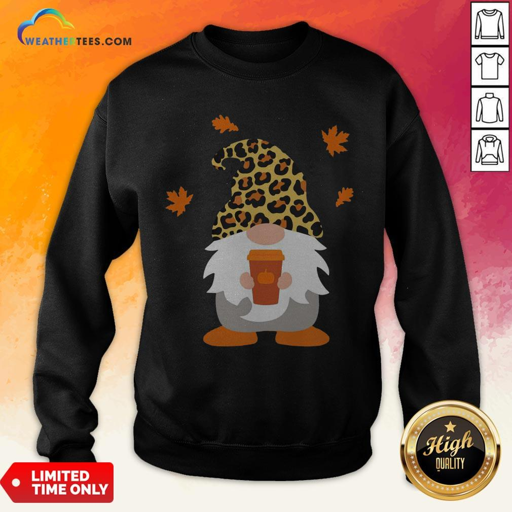 Feel Gnome Penguins Hug Coffee Sweatshirt - Design By Weathertees.com