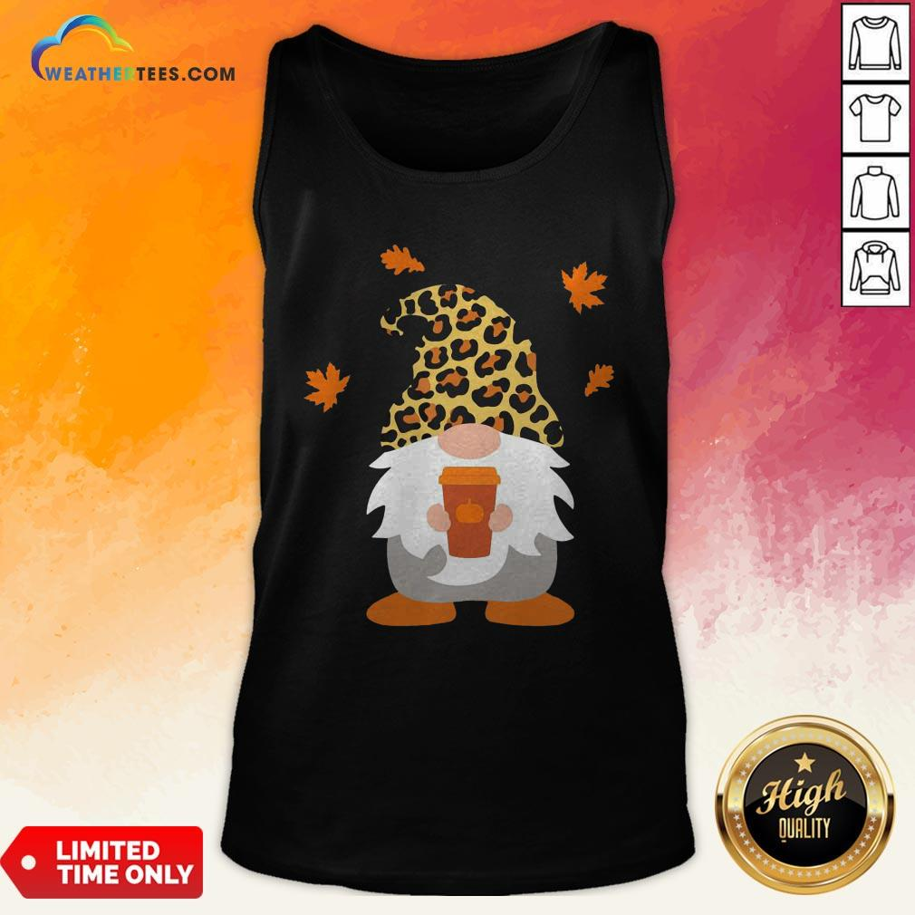 Feel Gnome Penguins Hug Coffee Tank Top - Design By Weathertees.com
