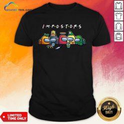 Happy Halloween Among Us Impostors Funny Shirt - Design By Weathertees.com