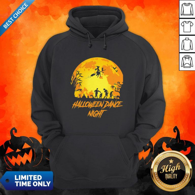 Happy Halloween Party Dance Night Hoodie