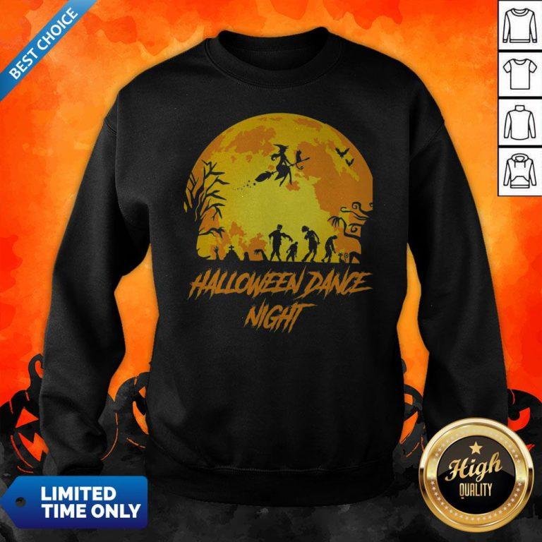 Happy Halloween Party Dance Night Sweatshirt