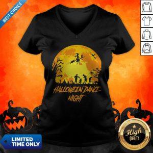 Happy Halloween Party Dance Night V-neck