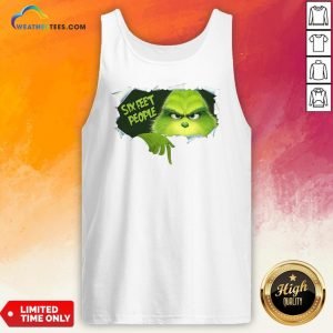 How The Grinch Six Feet People Tank Top - Design By Weathertees.com