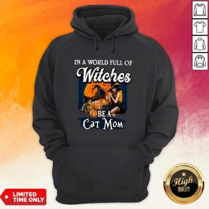 In A World Full Of Witches Be A Cat Mom Hoodie