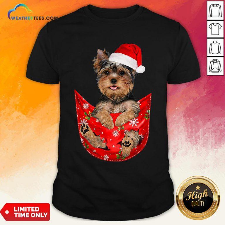 Kill Santa Yorkshire Terrier Merry Christmas Shirt- Design By Weathertees.com