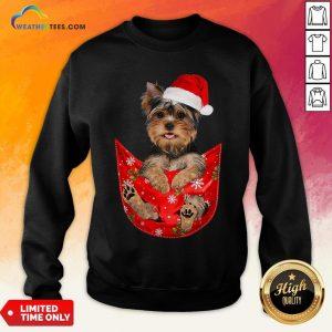 Kill Santa Yorkshire Terrier Merry Christmas Sweatshirt - Design By Weathertees.com