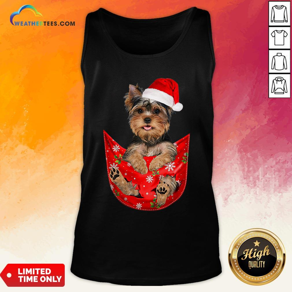 Kill Santa Yorkshire Terrier Merry Christmas Tank Top - Design By Weathertees.com