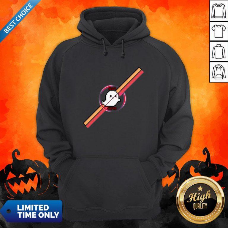Official Not Cute Ghost Halloween Hoodie