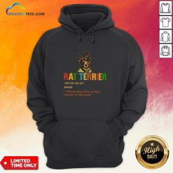 Official Rat Terrier Official Dog Of The Coolest People The Planet Hoodie