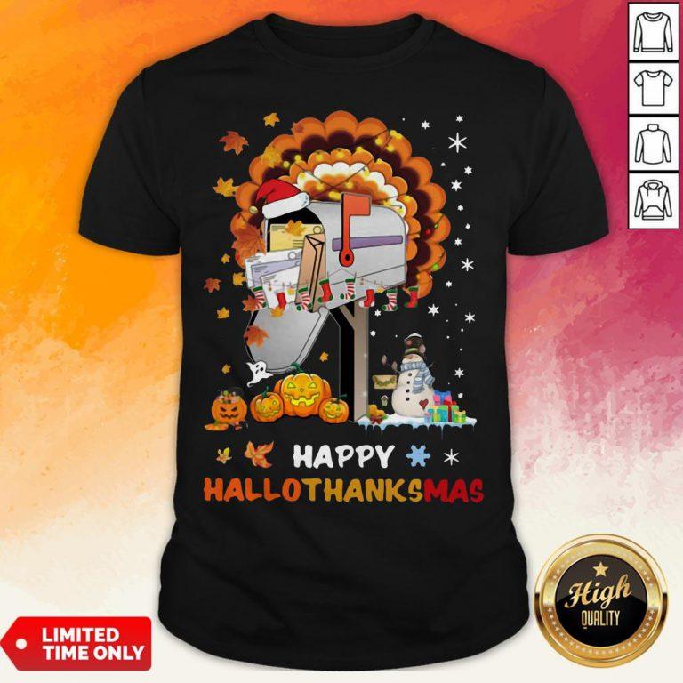 Postal Happy Hallo Thanksmas Shirt