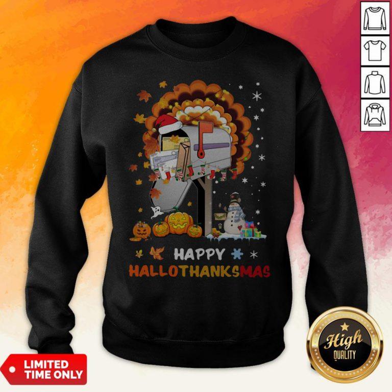 Postal Happy Hallo Thanksmas Sweatshirt