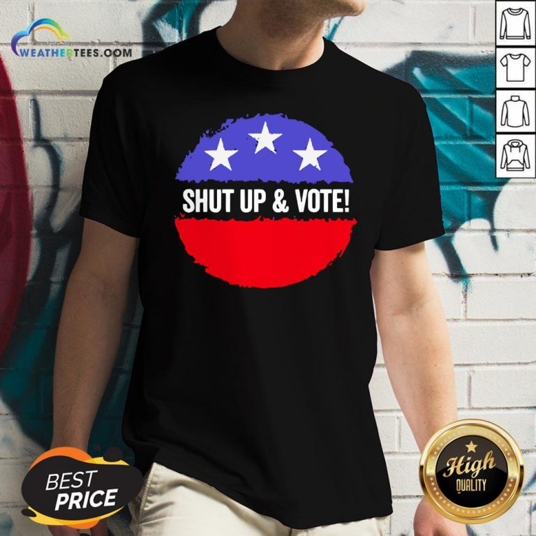 Premium Shut Up And Vote V-neck