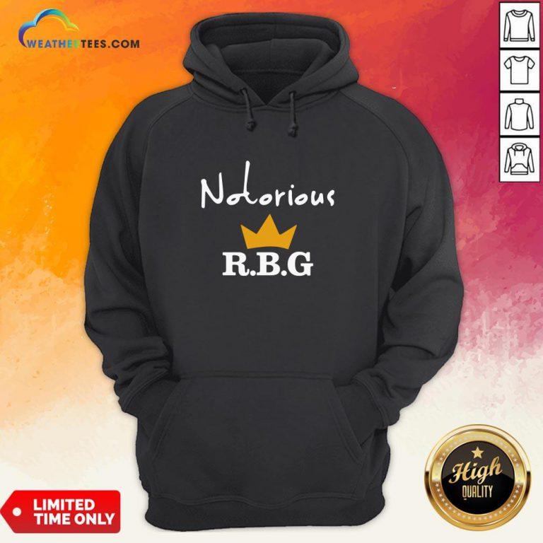 Ruth Bader Ginsburg Notorious RBG Hoodie