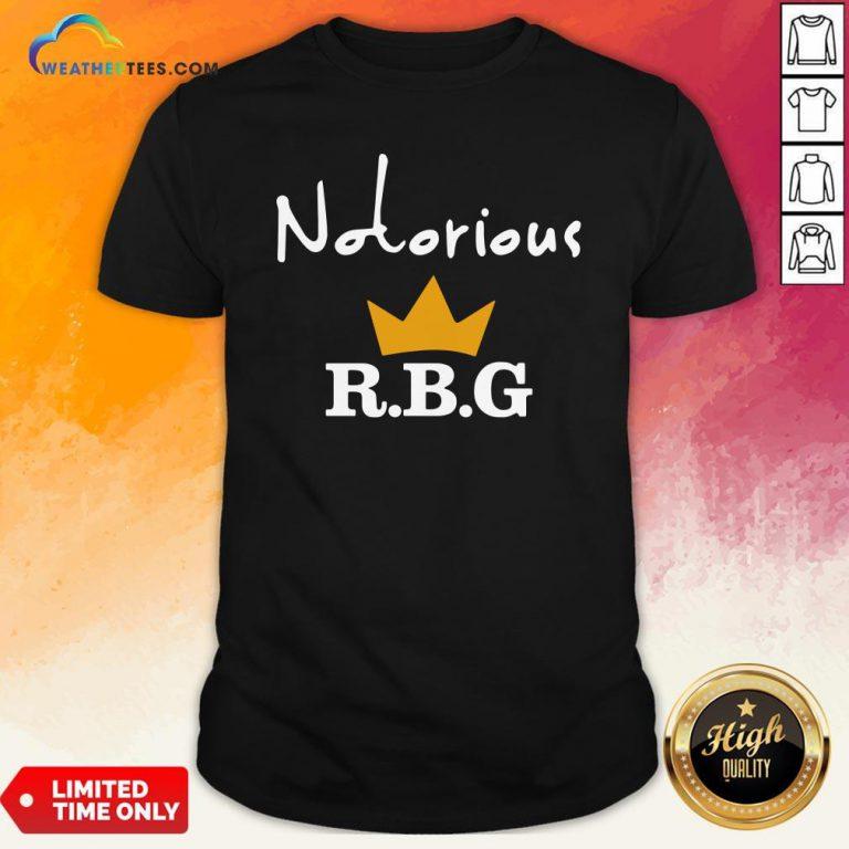 Ruth Bader Ginsburg Notorious RBG Shirt