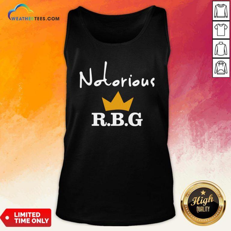 Ruth Bader Ginsburg Notorious RBG Tank Top
