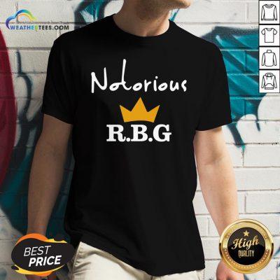 Ruth Bader Ginsburg Notorious RBG V-neck