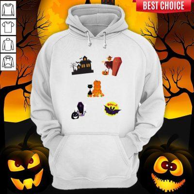 Scary Boo Pumpkins Happy Halloween Day Hoodie