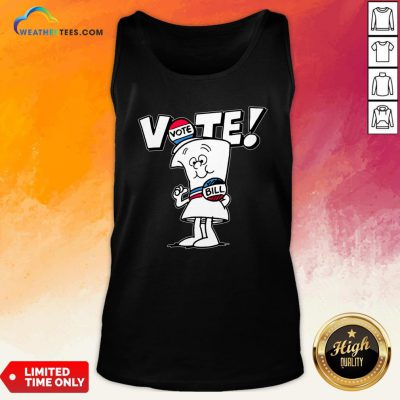Schoolhouse Rock Vote With Bill Schoolhouse Rock Vote With Bill Tank Top