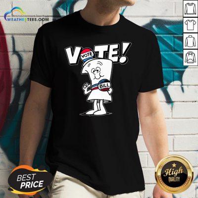 Schoolhouse Rock Vote With Bill V-neck