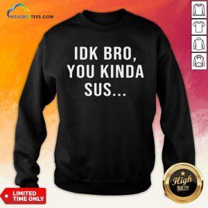 Watch Imposter Among Game Us Sus Sweatshirt - Design By Weathertees.com