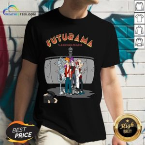 Ways Futurama Y La Hinchada Peruana V-neck - Design By Weathertees.com