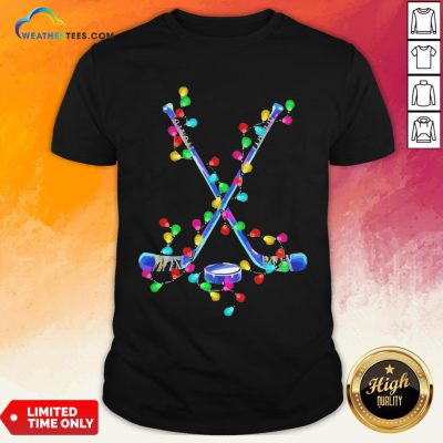Wonder Hockey Merry Light Christmas 2020 Shirt - Design By Weathertees.com