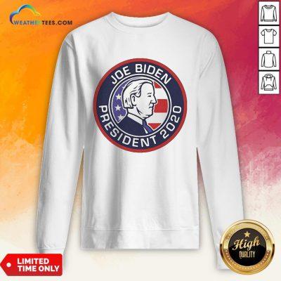 Awesome Funny Joe Biden President 2020 American Vintage Sweatshirt - Design By Weathertees.com