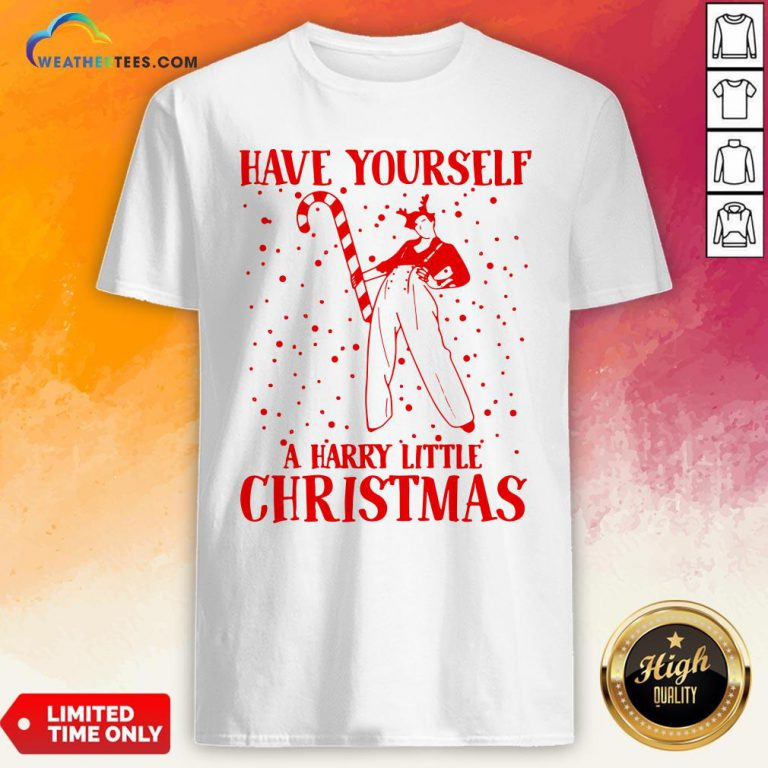 Best Have Yourself A Harry Little Christmas Shirt- Design By Weathertees.com