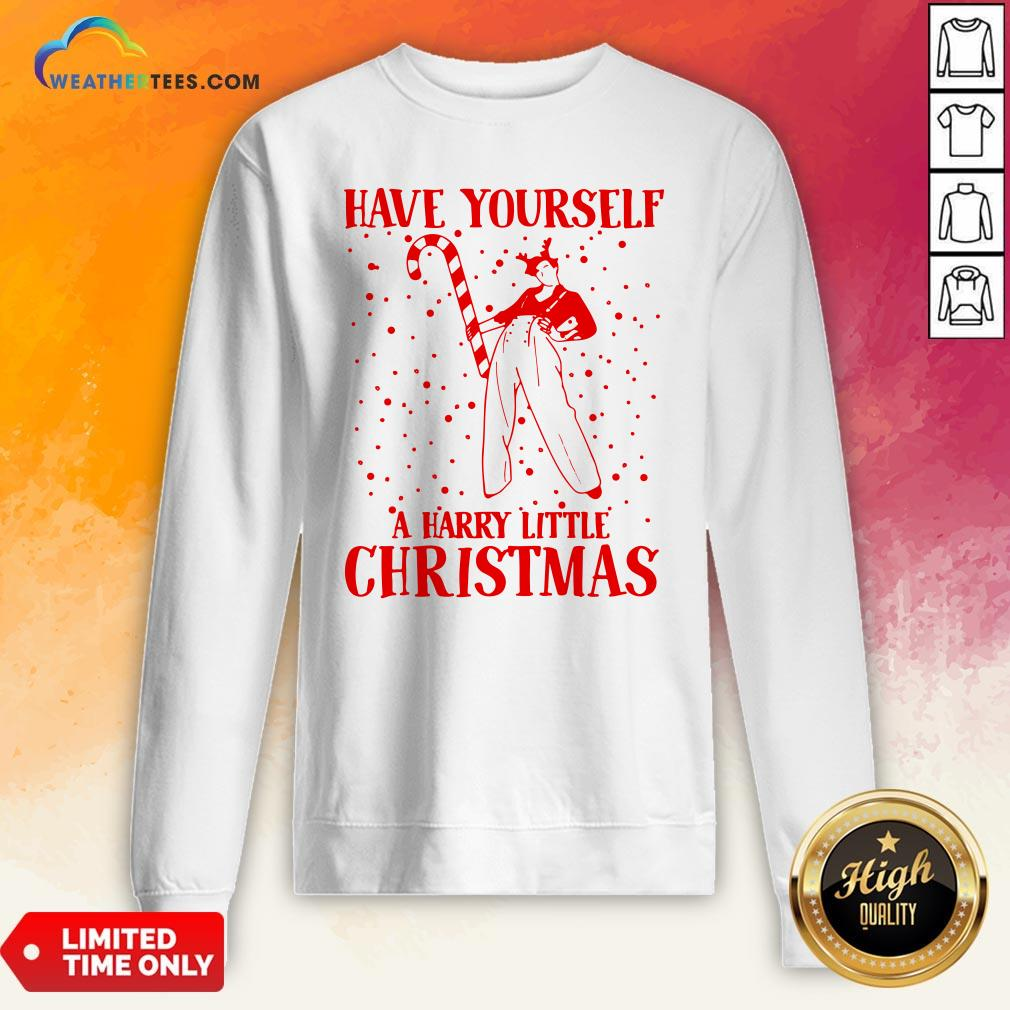 Best Have Yourself A Harry Little Christmas Sweatshirt - Design By Weathertees.com