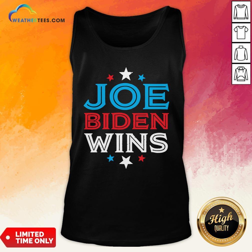 Best Joe Biden Wins President Victory 2020 Election White House Tank Top- Design By Weathertees.com
