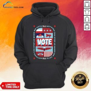 Best Nothing Can Stop Us When We Vote Classic Hoodie - Design By Weathertees.com