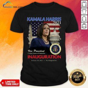 Better 2021 Inauguration Day Kamala Harris Commemorative Souvenir 2021 Shirt - Design By Weathertees.com