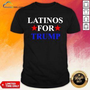 Cool Latinos For Trump 2020 Hispanics President Shirt - Design By Weathertees.com