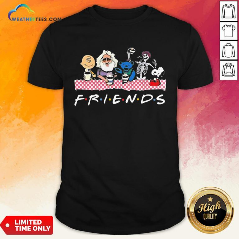 Cute Bear And Jerry Friend Shirt - Design By Weathertees.com