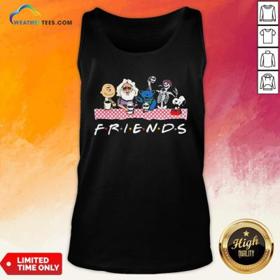 Cute Bear And Jerry Friend Tank Top - Design By Weathertees.com
